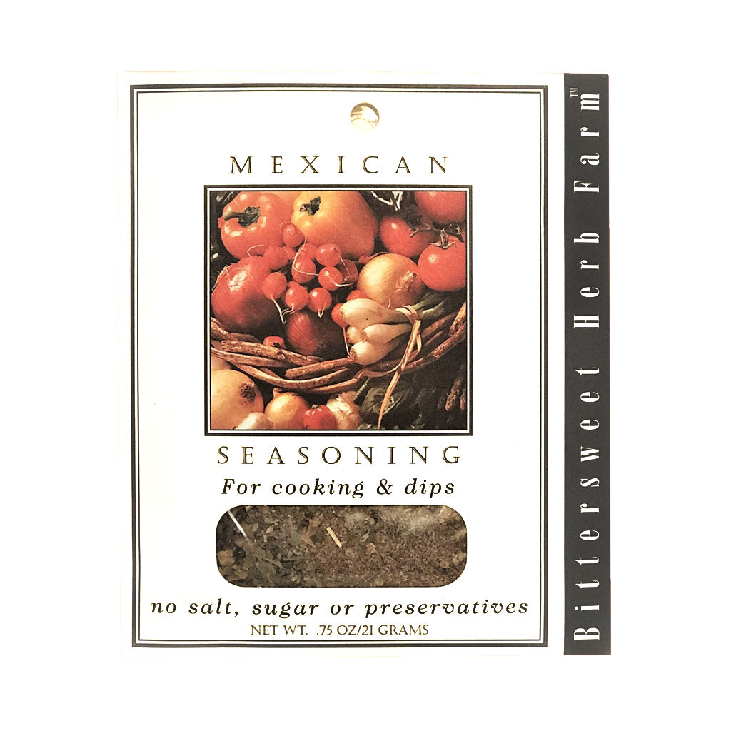 Mexican seasoning packet