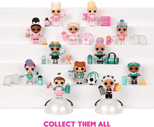 ‎ L.O.L. Surprise! All-Star B.B.s Sports Series 3 Soccer Team Sparkly Dolls with 8 Surprises