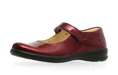 Naturino Catania Mary Jane Bordeaux side view