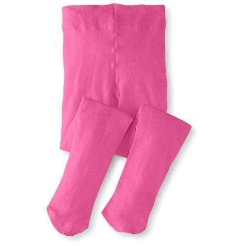 Jefferies Seamless Organic Cotton Girls Tights - Bubblegum