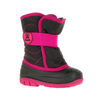 Kamik Snowbug 3 Insulated Winter Boots black/rose side view