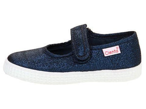 Cienta Canvas Mary Jane (Toddler)