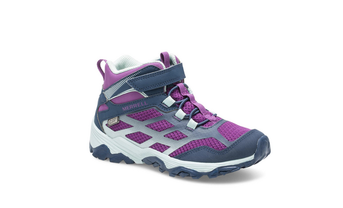 Merrell Moab FST Waterproof Boot (Little Kid/Big Kid)