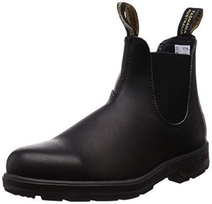 BLUNDSTONE ELASTIC SIDED V-CUT BOOT (BIG KID) black side view
