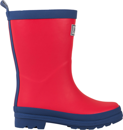 Hatley Red & Navy Matte Rain Boots (Toddler/Little Kid)