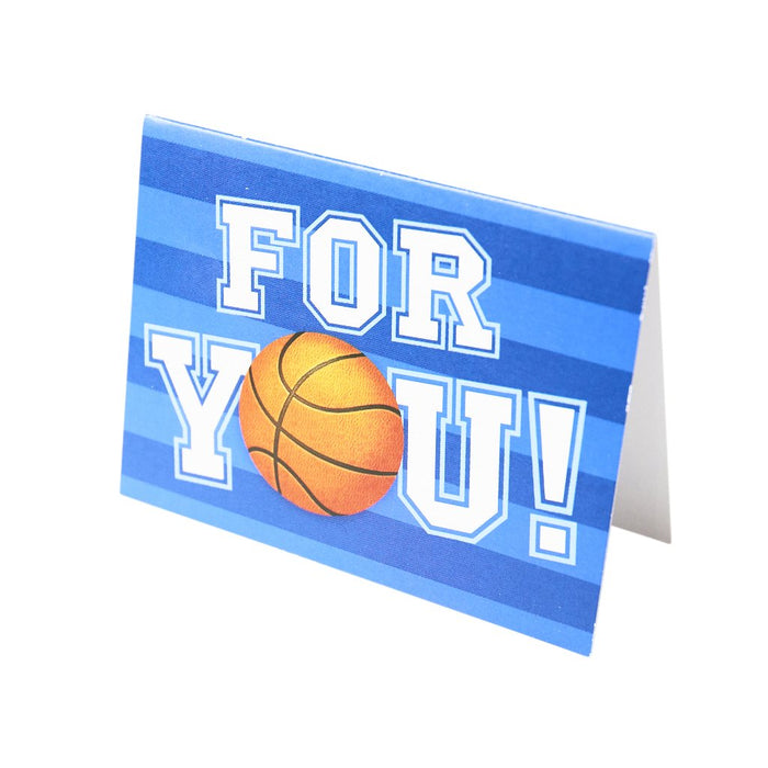 Peaceable Kingdom Basketball For You Greeting Card