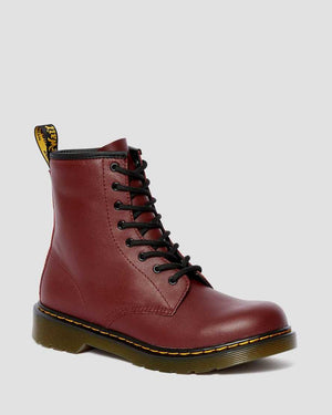Dr. Marten Delaney Lace Boots (Big Kid)