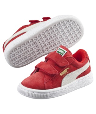 Puma Suede 2 Straps PS (Little Kid)