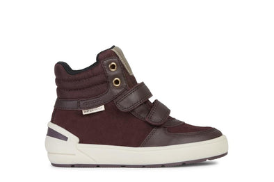 Geox J Sleigh Waterproof High Top Sneaker (Little Kid/Big Kid)