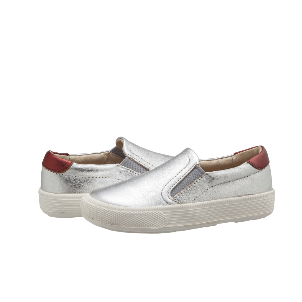 Old Soles Girls Little Kid Hoff Style Slip-On Leather Shoes NEW