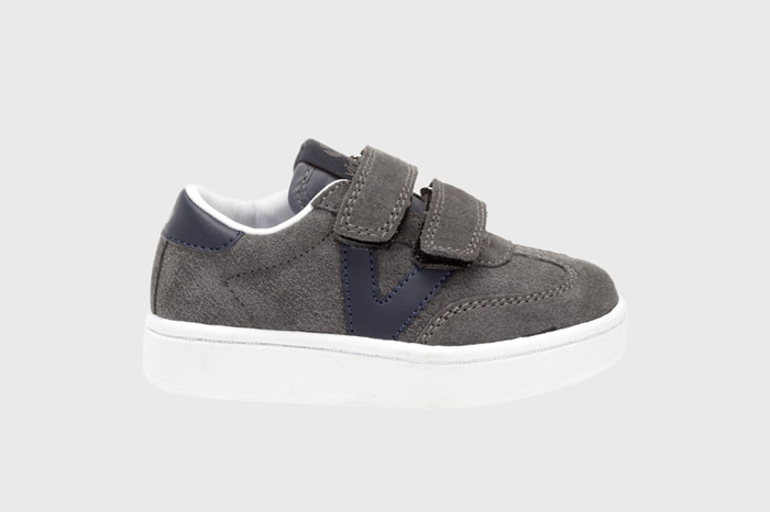 Victoria Millas Suede Trainer (Toddler/Little Kid)