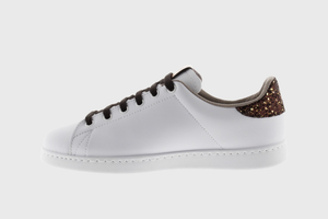 Victoria Tennis Vegan Glitter Sneaker (Big Kid)