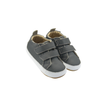Old Soles Bambini Market Double Strap Shoe (Infant/Toddler) Grey side front view