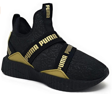 Puma Defy Mid Bling (Little Kid)