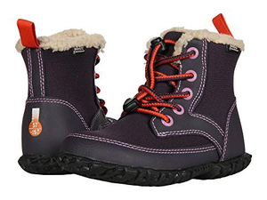 Bogs Skyler Kids' Insulated Boots Eggplant Front Side View