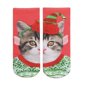 Living Royal Elf Kitten Ankle Socks