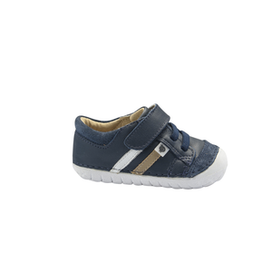 Old Soles Pave Denzle (Toddler) Navy side view