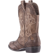 Nina Beti Cowgirl Boot brown back view