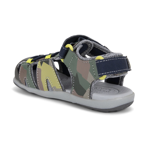 See Kai Run Lincoln Camo Sandal (Little Kid)