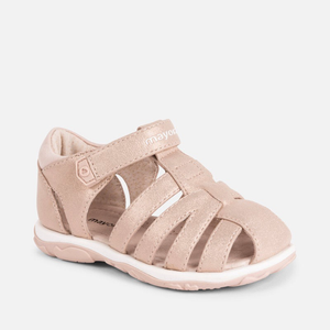 Mayoral Glitter Sandal (Toddler)