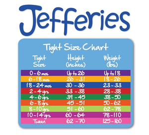 Jefferies Socks Multi Stripe Tights (1 Pair)