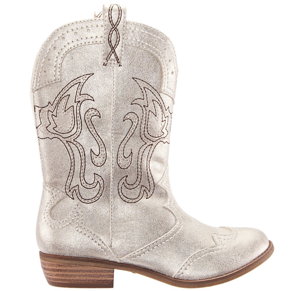 Nina Beti Boot metallic side view
