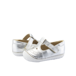 Old Soles Royal Pave (Toddler) Silver front side view