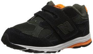 New Balance 990J2 black/orange side view