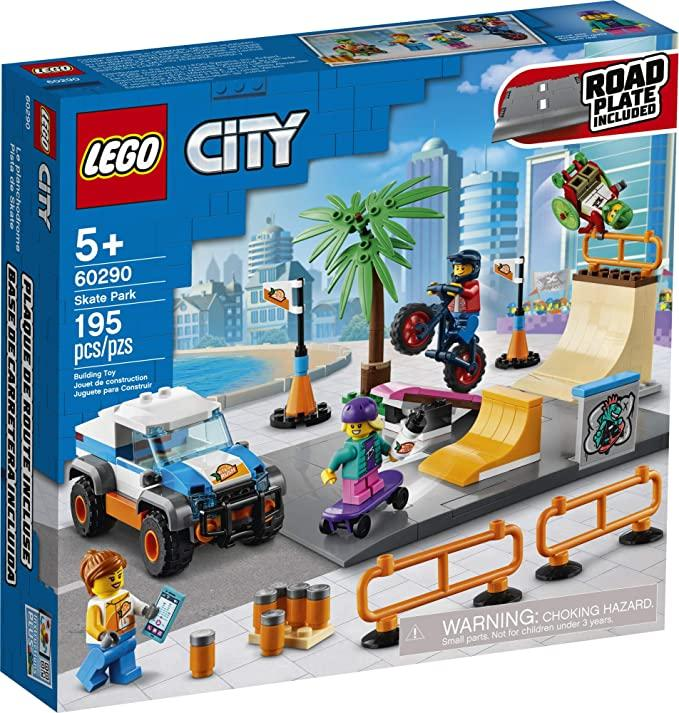 LEGO City Skate Park Building Kit 60290