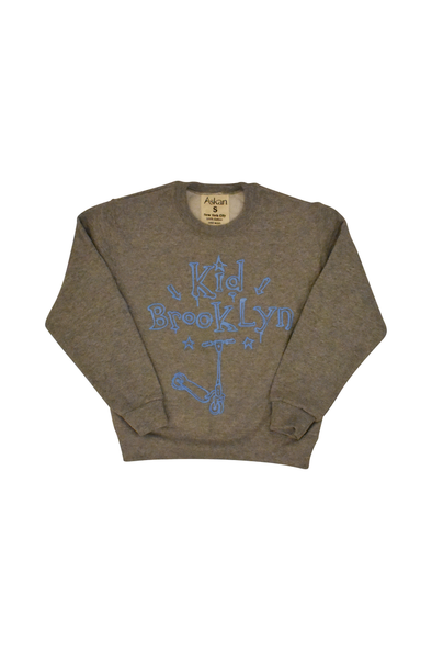Brooklyn Kid Sweatshirt (Gray)