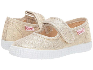 Cienta Canvas Sparkle Mary Jane (Toddler)