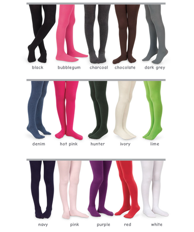 Jefferies Seamless Organic Cotton Tights