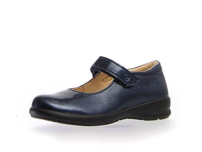 Naturino Catania Mary Jane dark blue side view