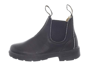 BLUNDSTONE BLUNNIES LEATHER PULL-ON BOOT black side view