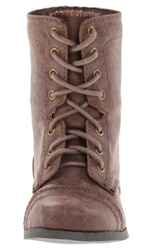 Steve Madden Tcablee Lace Up Boot (Toddler/Little Kid)