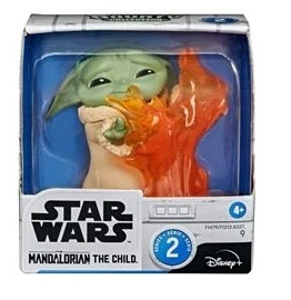 Star Wars The Mandalorian Bounty Collection The Child (Baby Yoda / Grogu) Action Figure #9 [Stopping Fire]