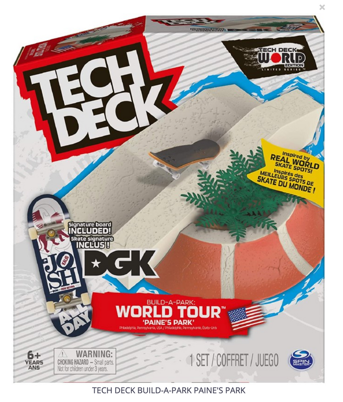 TECH DECK BUILD-A-PARK PAINE'S PARK
