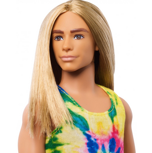 Barbie Ken Fashionistas Doll #138 with Long Blonde Hair