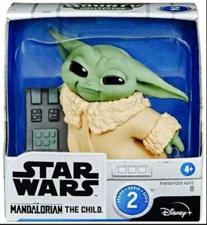 Star Wars The Mandalorian Bounty Collection The Child (Baby Yoda / Grogu) Action Figure #8 [Pushing Buttons]