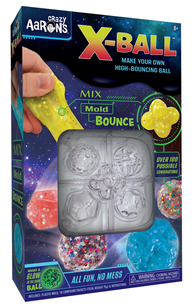 Crazy Aaron X-Ball Bouncing Ball Craft Kit