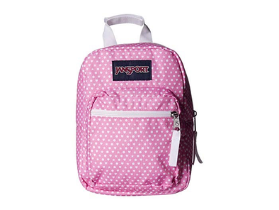 JanSport Big Break Lunch Bag (Prism Pink Icons)