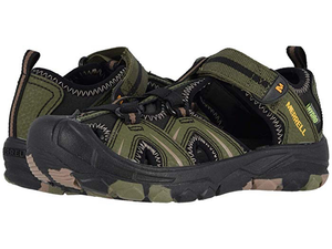Merrell Hydro (Little Kid/Big Kid) Olive/Camo