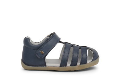 Bobux Step Up Jump Sandal Navy Side View