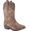 Nina Beti Cowgirl Boot brown side view