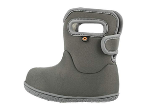 Bogs Baby Bogs Solid Waterproof Boots w/ Handles (Toddler)
