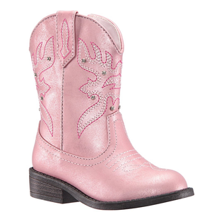 Nina Mirabela Boot (Toddler/ Little Kid) LT Pink Metallic front side