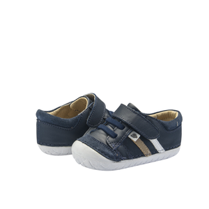 Old Soles Pave Denzle (Toddler) Navy front side view