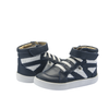 Old Soles New Leader High Top (Toddler/Little Kid) Navy/White front side view