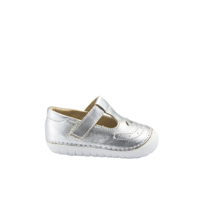 Old Soles Royal Pave (Toddler) Silver side view