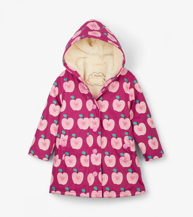 Hatley Apple Orchard Sherpa Lined Splash Jacket